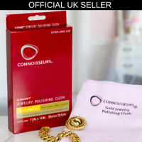Large Jewellery Polishing cleaning Cloth Connoisseurs cleaner Gold & Diamond
