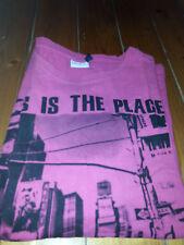 T-shirt Gr. XL , Sublevel, pink mit schwarzem Bild, mann