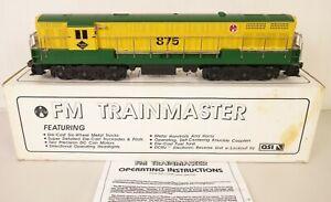 CUSTOM TRAINS #SA-1008 READING LINES FM TRAINMASTER DIESEL-NEW IN OB!