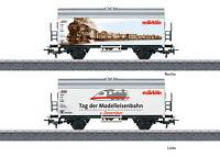 "Märklin H0 44240 Gedeckter Güterwagen ""Tag der Modelleisenbahn 2018"" - NEU + OVP"