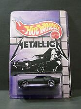 "Custom HotWheels CAMARO and package  ""Video Tribute""  from  METALLICA"