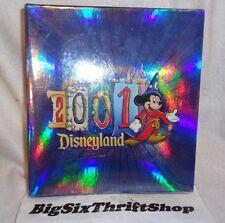 Disneyland 2001 Photo Album Book Mickey Mouse 4X6 Photos 100 NEW