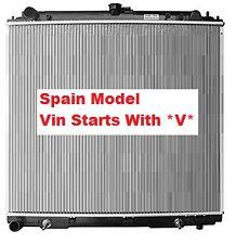 Radiator Navara D40 05- RX ST ST-X Auto Manual 2.5L T Diesel Spain Vin Starts*V*