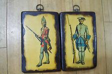 Royal Roussillon Regiment 1758 & Grenadier Revolutionary Wall Hanging War Plaque