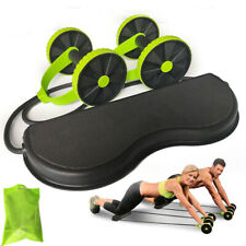 AB Wheels Roller Stretch Elastic Abdominal Resistance Pull Rope Tool AB roller f