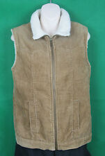 Rockmans, Size 8, Ladies, Sleeveless Corduroy Jacket