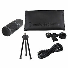 Audio Technica AT2020USB+ PLUS USB Recording Mic w/Headphone Output +Mix Control
