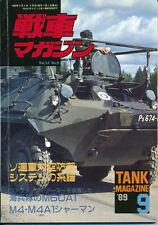 Tank Magazine 1989/9 m60 a1 Rise ch-47j m981 FISTV t-34/85 MLRS Panhard m11