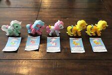 My Little Pony The Loyal Subjects Lot Of 5 Minty, Firefly, Sundance, Applejack