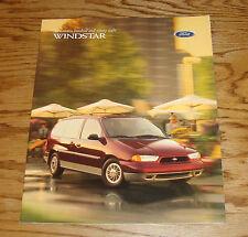 Original 1998 Ford Windstar Sales Brochure 98
