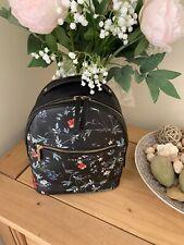 Beautiful Fiorelli Anouk Richmond Floral Ladies Black Backpack Handbag
