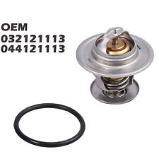87 °C Cooling Thermostat With Gasket 044121113 For VW Polo Golf AUDI SEAT SKODA