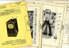 FIRESTONE - 13-G-33  TV  1950  PHOTOFACT FOLDER - SERVICE MANUAL