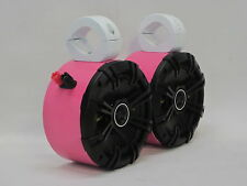 Kicker PINK Mini Wakeboard Tower Boat Roll Cage Speakers UTV CAN AM RZR Golf Car