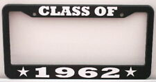 CLASS OF 1962 LICENSE PLATE FRAME FITS CHEVY FORD MOPAR