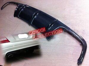 Carbon Fiber MERCEDES BENZ 08~11 W204 C63 Sedan rear diffuser ◎