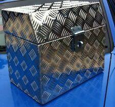 Aluminium Checker Plate Battery Box
