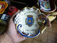 Ancien Ramasse Piece Quimper Souvenir de la Foire Commerciale de LENS 1982