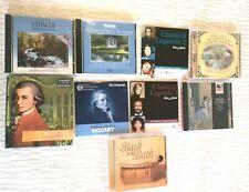 Bundle Of Mix 9 CD Classic Music Classical Legends Mozart 4 Seasons Vivaldi-C326