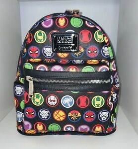 Loungefly X MARVEL COMICS ICONS Japanese Exclusive Mini Backpack BNWT