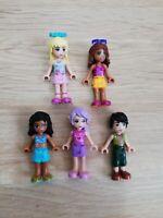 LEGO - friends X5 qty minifigure pack! great bulk pricing!