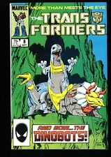 Transformers #8 NM 9.4 1st Dinobots!