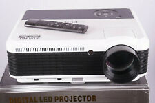 "EUG X88+ Beamer Projektor LED 4500 Lumen 6500:1 Bluetooth HDMI VGA AV USB ""TOP"""