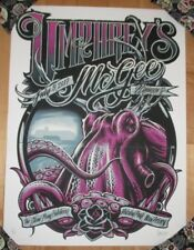 Umphrey'S Mcgee concert gig tour poster Asbury Park 7-9-17 2017 Maxx242