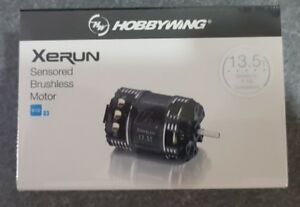 HOBBYWING XERUN  SENSORED V10 G3 BRUSHLESS STOCK RACE MOTOR 13.5T