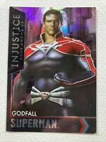 Injustice Arcade Series 1 Out of Print Card 47 Regime Superman Holofoil