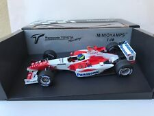 Cristiano Damatta ,Hand Signed, Toyota Formula One Team, Minichamps 1/18,New!