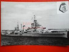 PHOTO  THE 7TH HMS GLASGOW (C21) WAS A SOUTHAMPTON-CLASS LIGHT CRUISER