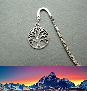 White Tree of Gondor Lord of the Rings Bookmark LoR Ringer Silver Birthday Gift