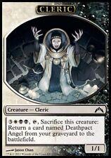 TOKEN Chierico 1/1 - Cleric 1/1 MTG MAGIC GtC Gatecrash Italian