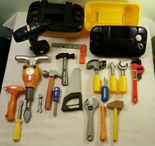 Large Lot of Children's Tools, Tool Boxes and Accessories