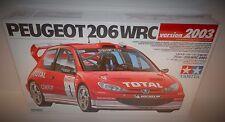 Tamiya 1:24 Peugeot 206 WRC Version 2003 #24267 NIB