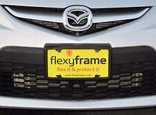 A NASA-like Rubber License Plate Bracket Frame Holder Guard Bumper for MAZDA