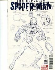 SUPERIOR SPIDER-MAN #1 - 1/50 ED MCGUINNESS DESIGN SKETCH VARIANT - 2011