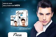 Facia Skin and Hair Solutions for Men Healthy Glowing Young Look Stop Hair Loss