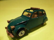 NOREV 8431 CITROEN 2CV6 2CV - 1:43 - GREEN- RARE SELTEN - GOOD CONDITION