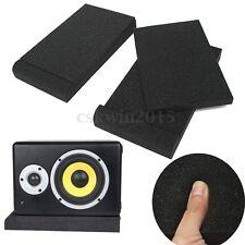 "Pair Of 5"" Studio Monitor Speaker Isolator Sponge Foam Isolation Pad 170 X 300mm"