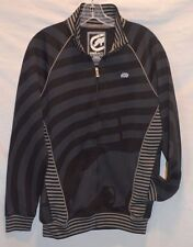 MENS ECKO UNLTD Track BLACK with gray STRIPED SMALL NWOT