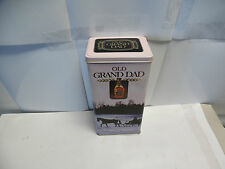"""Old Grand Dad The Spirit of America Collector's tin. 9-1/2"""" tall x 4-3/4"""" N461"""