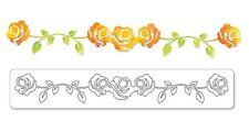 Sizzix Sizzlits Decorative Strip Die - Rose Vine - Flowers, Roses