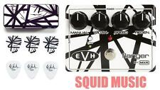 MXR EVH-117 Eddie Van Halen Flanger (EVH BLACK & WHITE STRIPES PICK TIN) EVH117