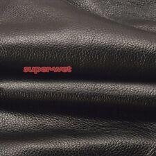 Genuine Fait Real Leather Fabric Cow Hide DIY Sofa Bag Craft Stitching 50cmX50cm