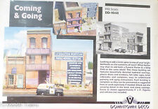 Downtown Deco HO #1048 Coming & Going (Building kit) Plaster Kit