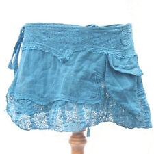 Gonne e minigonne da donna floreale in misto cotone