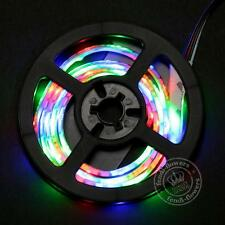 2m LED Strip RGB Multi-color Light TV PC Decor Backlight Changing Remote 5v Kit 1m RGB