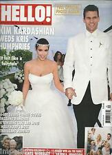 Hello magazine Kim Kardashian Kris Humphries wedding Kate Winslet
